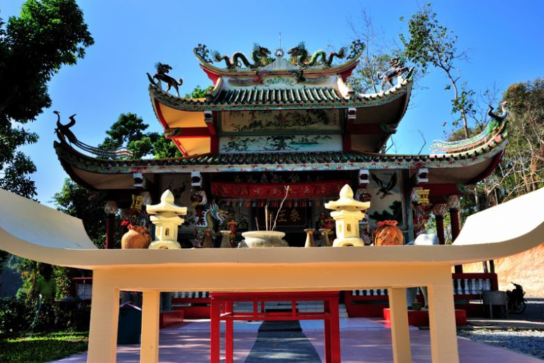 Храм Божества острова Чанг