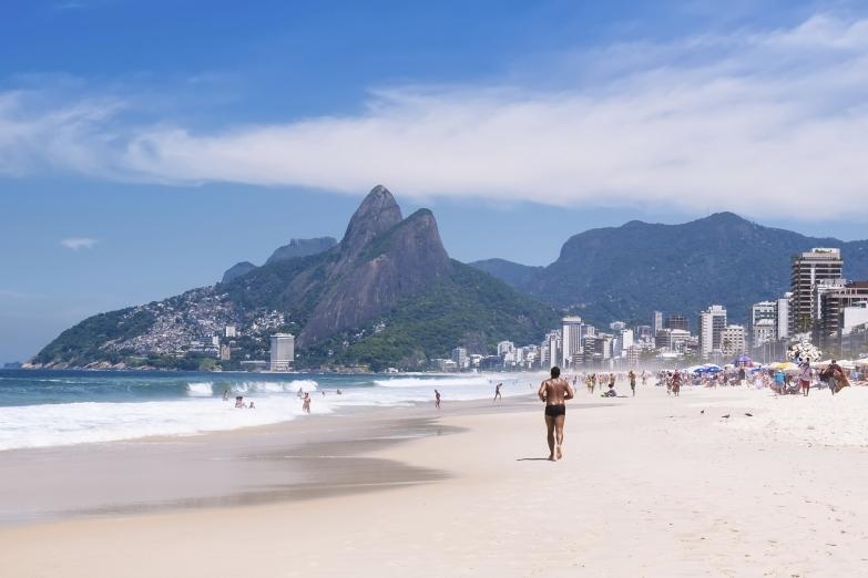 Пляж Ипанема в Рио