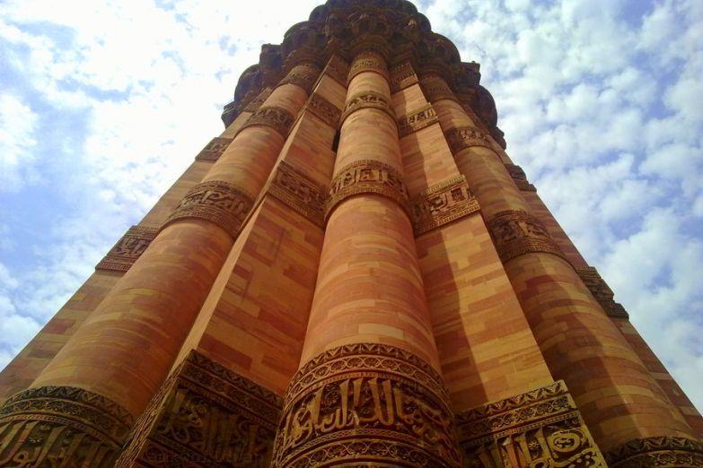 Храмовый комплекс Кутуб Минар в Дели