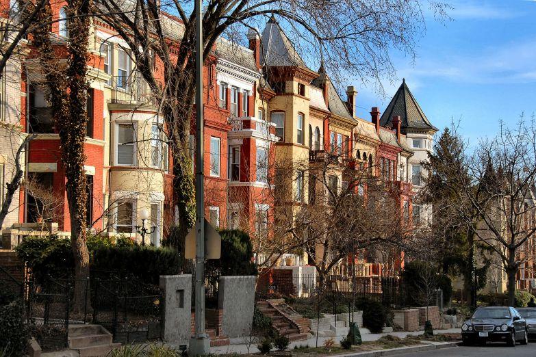 Жилые дома в Вашингтоне