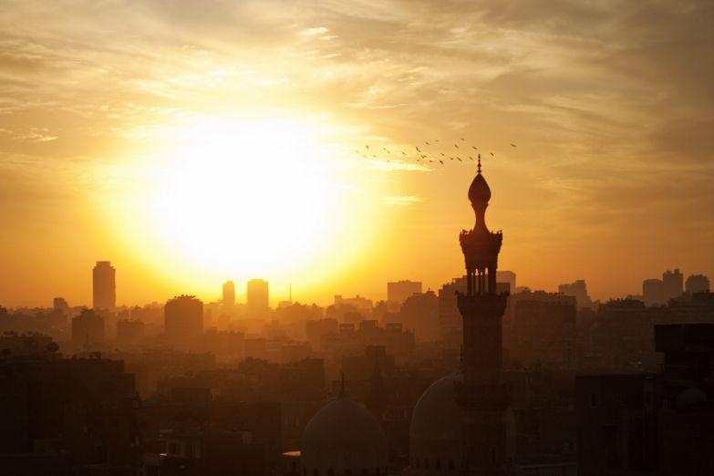Каир на закате