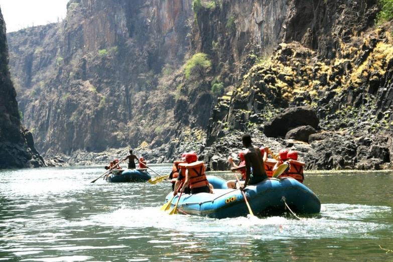 Рафтинг по реке Замбези