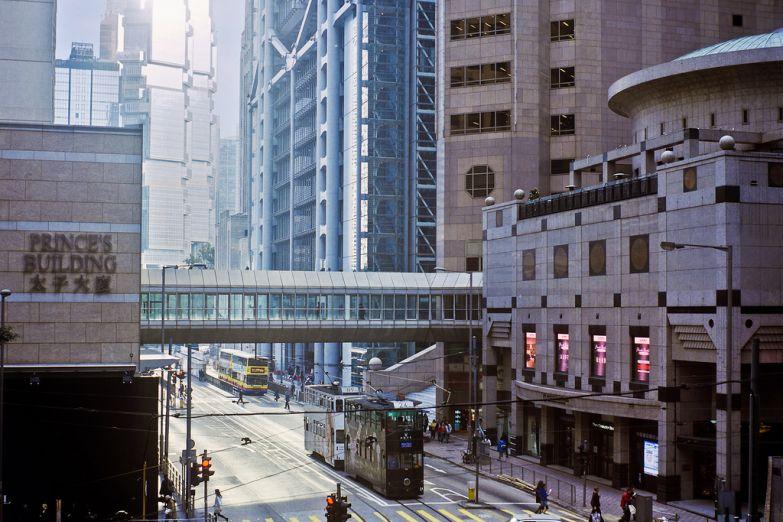Деловой квартал в Гонконге