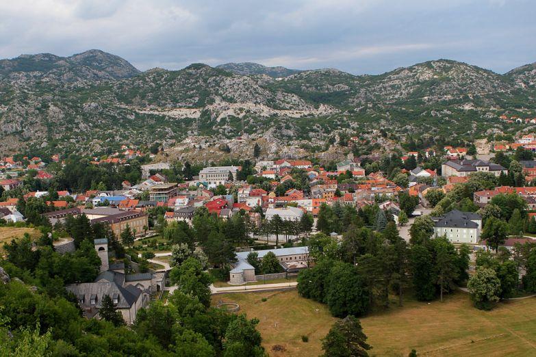 Панорама Цетине