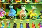 Бутылки с цветным песком