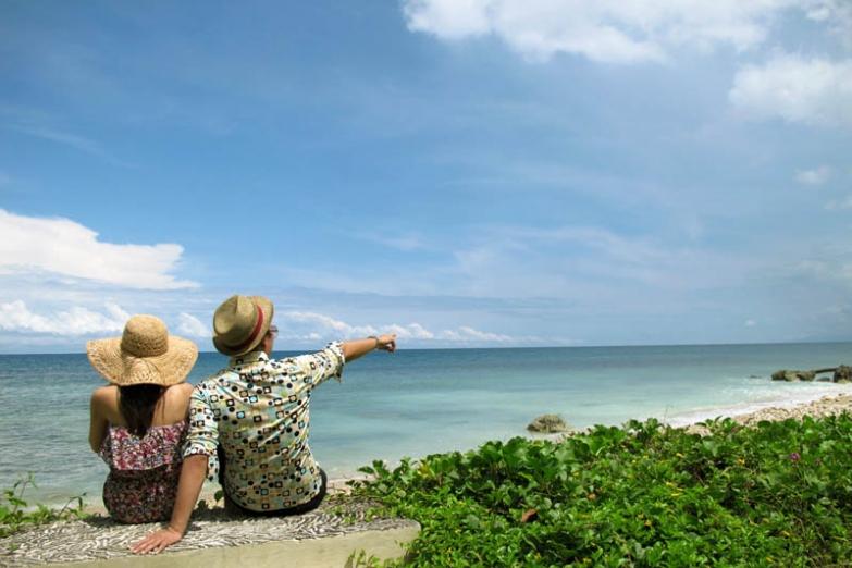 Романтический пляж, Западная Ява