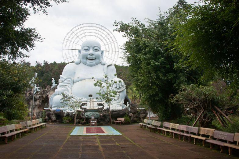 Гигантская статуя Будды