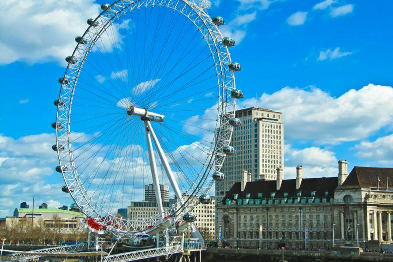 Лондонское око, колесо обозрения