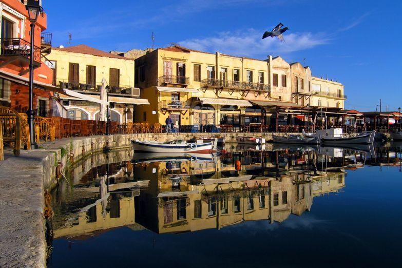 Венецианская гавань в Ретимно