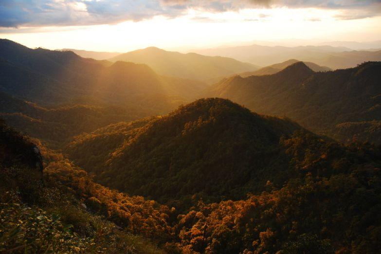 Горы Чианг Май