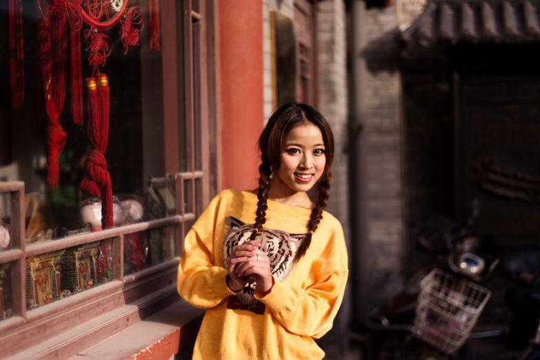 Молодая китаянка