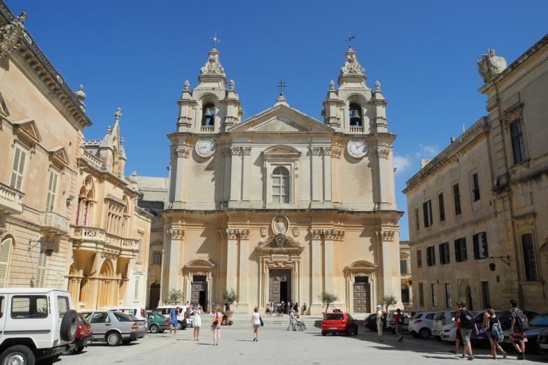 Площадь перед Кафедральным Собором Св. Павла