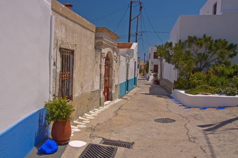 Улица в деревне Линдос