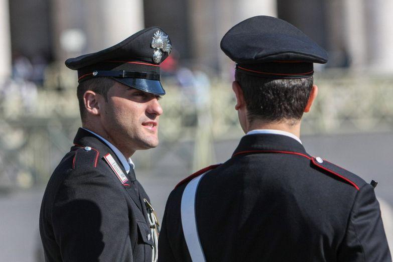 Полицейские в Риме