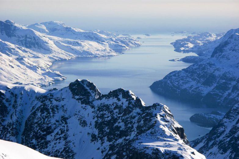Панорама Гренландии