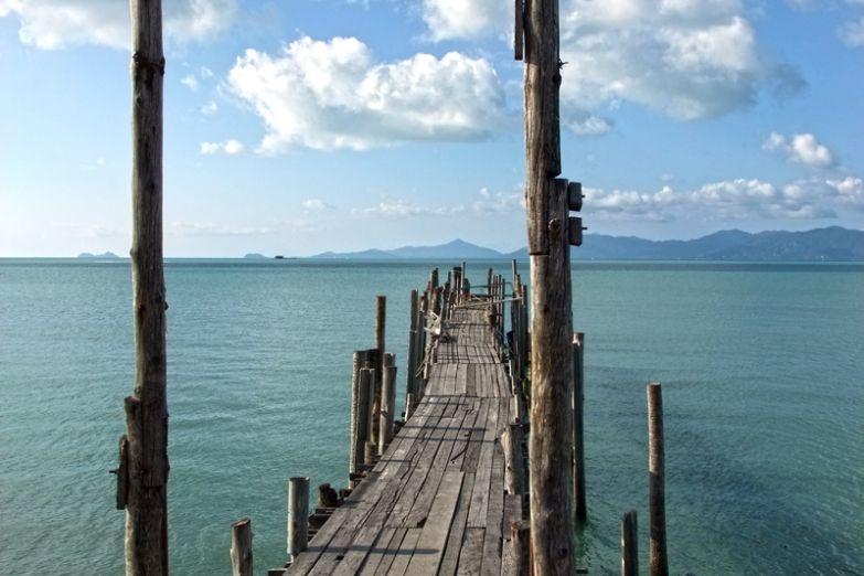 Вид на остров Самуи