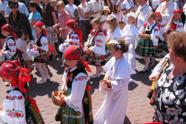 Польские народные гуляния