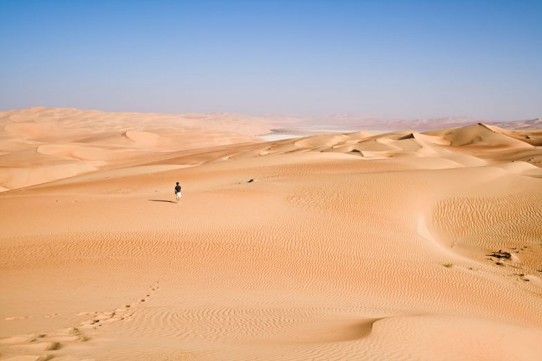 Прогулка по Аравийской пустыне