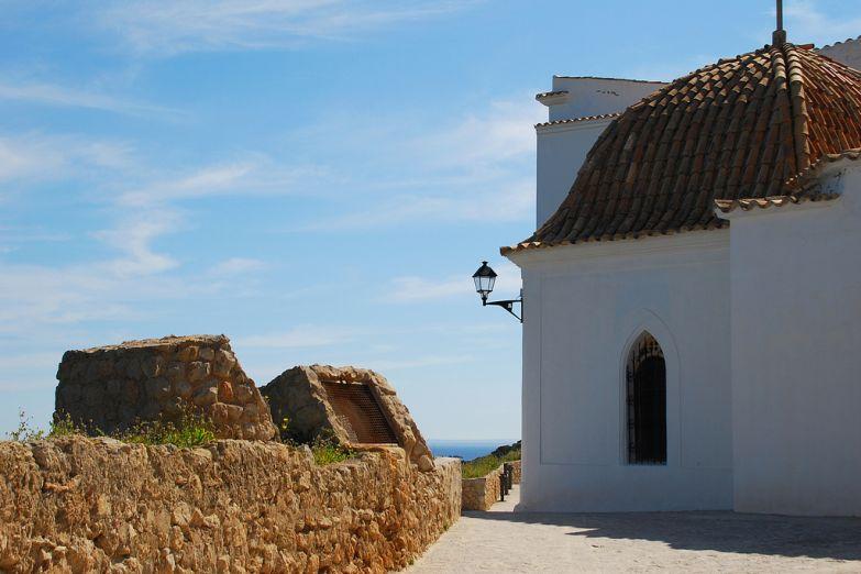 Церквушка на острове Ибица