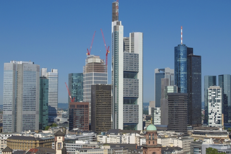 Панорама Франкфурта-на-Майне