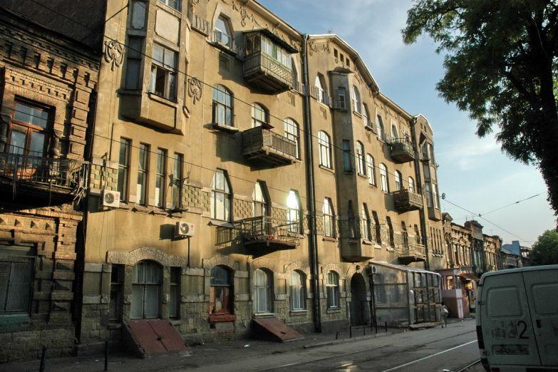 Старые улочки в Ростове-на-Дону