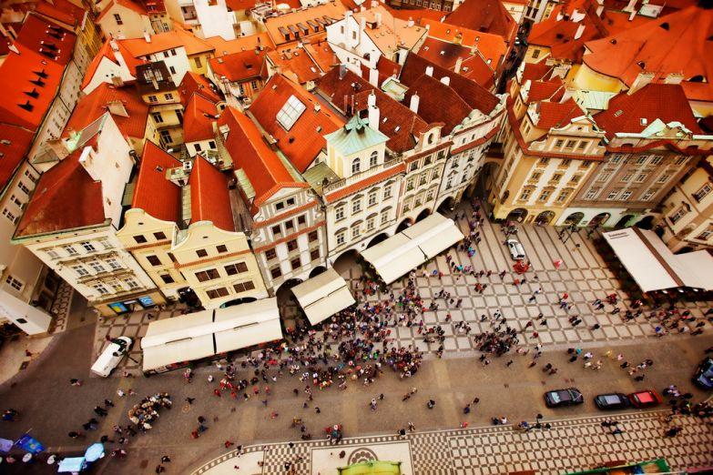 Дома на Староместской площади, Прага
