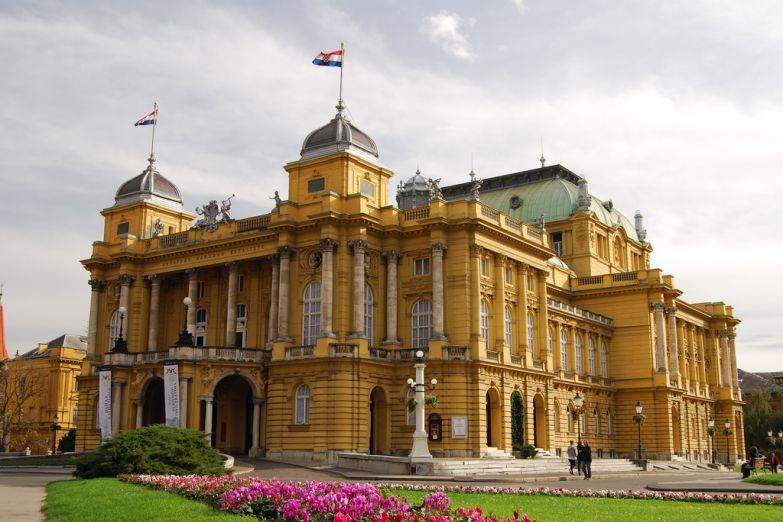 Национальный театр Хорватии в Загребе