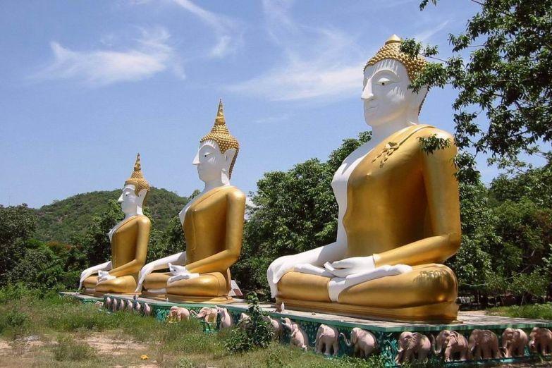 Медитирующие Будды