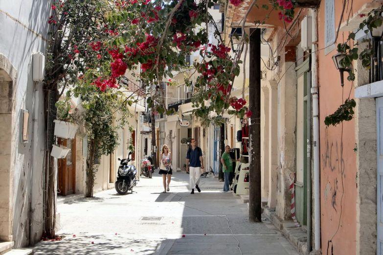 Улица в Ретимно