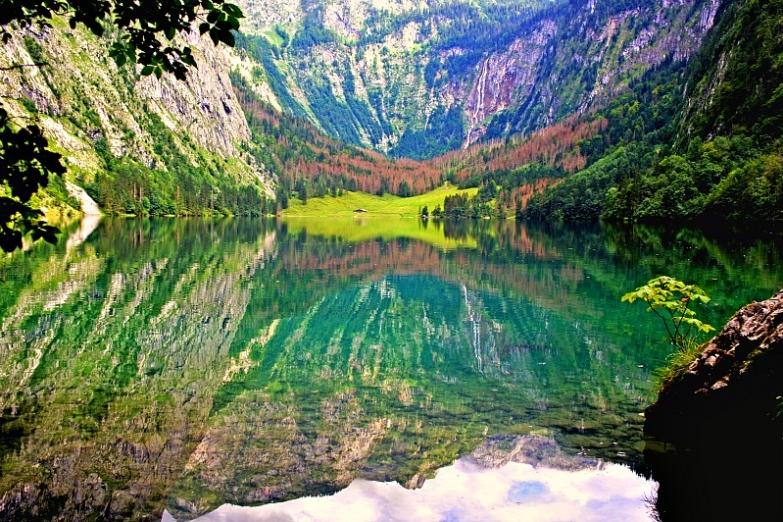 Альпийское озеро Оберзее