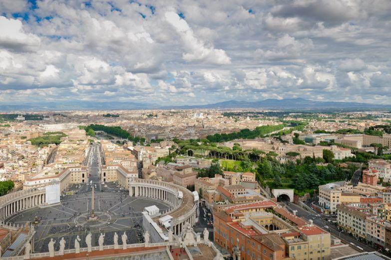 Вид с Собора Святого Петра
