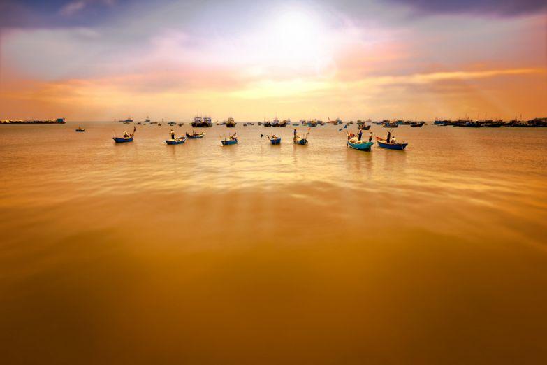 Рыбаки в Вунгтау