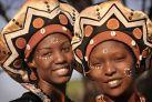 Женщины Замбии в традиционных нарядах