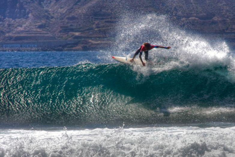 Серфинг на острове Гран-Канария