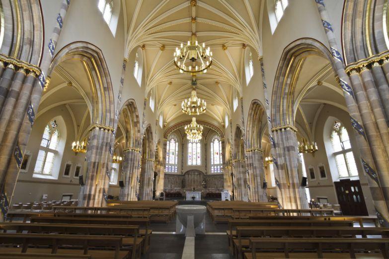 Интерьер собора Св. Андрея