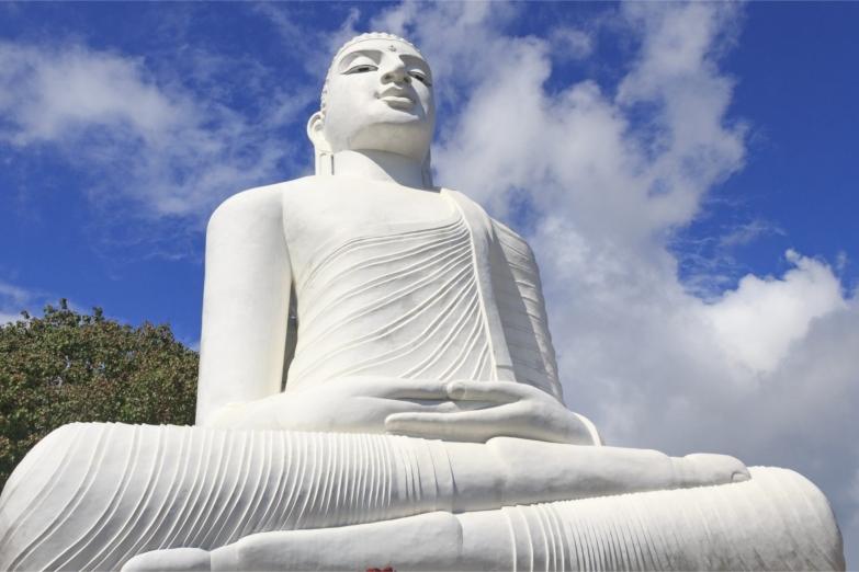 Будда в храме Бахираваканда