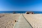 Пляж на побережье Алании