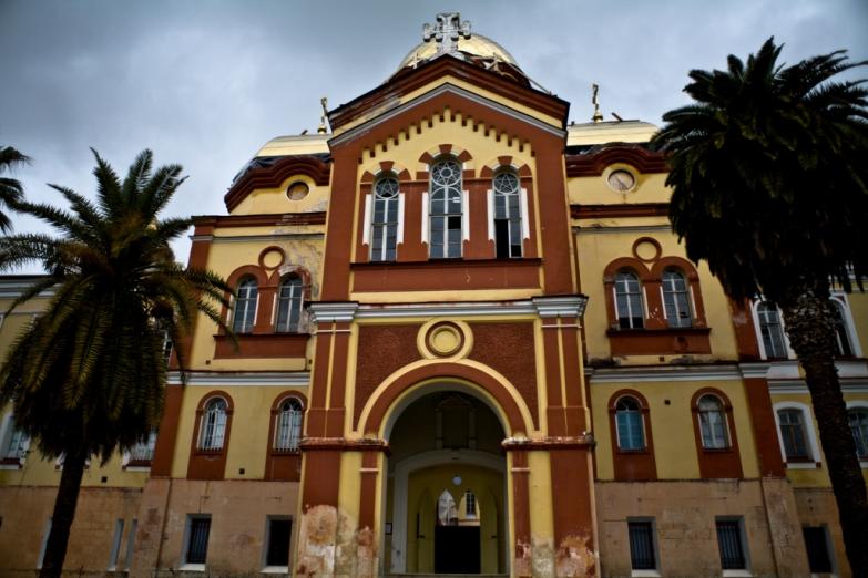 Вход в Новоафонский монастырь