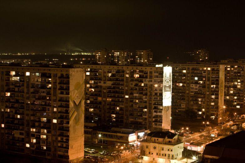 Ночной Бургас