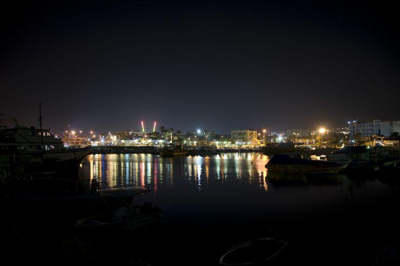 Айя-Напа ночью