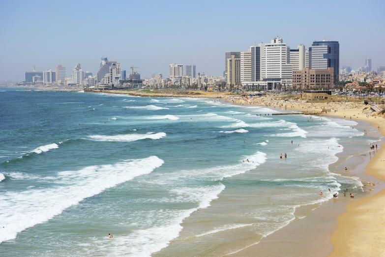 Городской пляж Тель-Авива