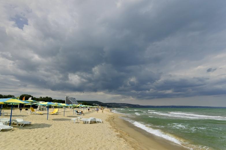 Пляж в Албене