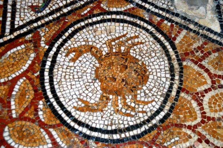Мозаика в музее Бардо