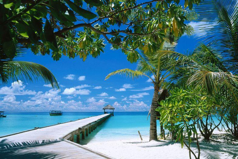 Уединенный пляж