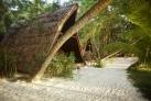 Традиционнаяхижина островитян
