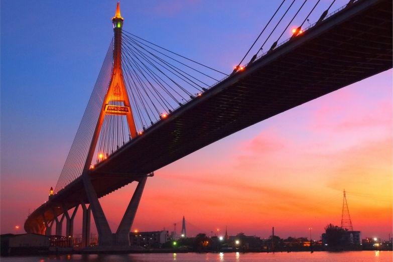 Мост над рекой Чао Прайя