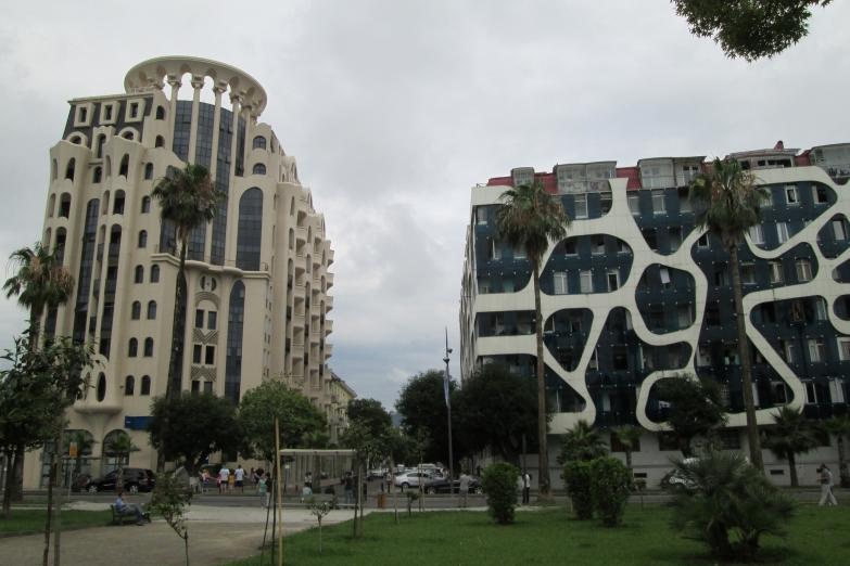 Современная архитектура Батуми