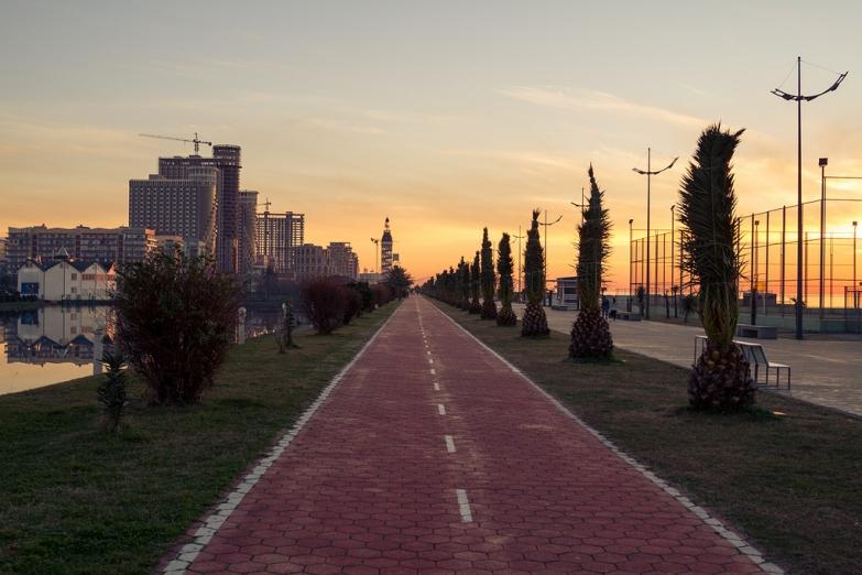 Прогулка на закате
