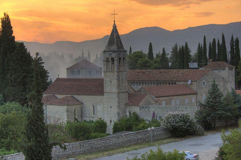 Францисканский монастырь в городе Сплит