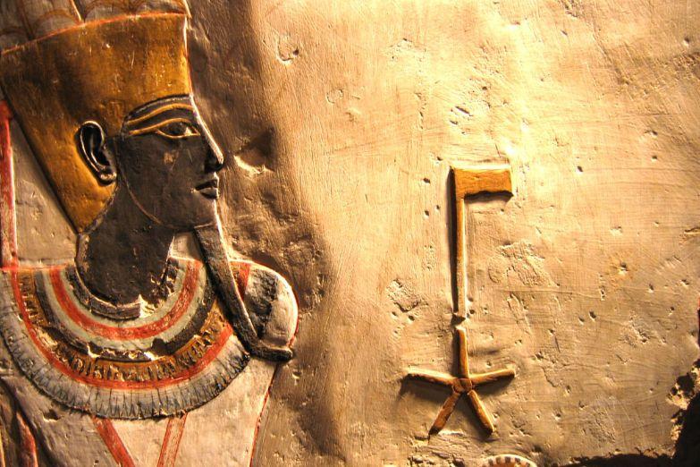 Рельеф в Луксорском музее